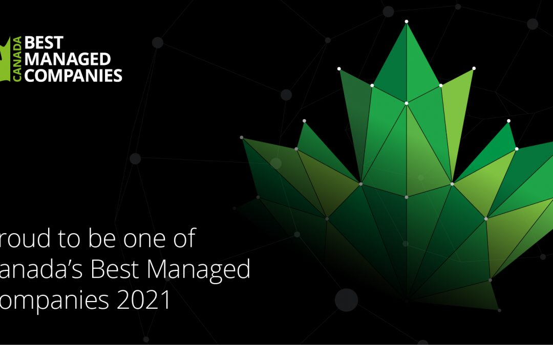 Congratulations 2021 Best Managed Winners!