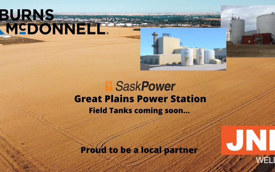 Project Announcement:  Great Plains Power Station Tanks
